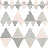 A Street Prints Triology Grey / Pink Wallpaper - Product code: FD25128