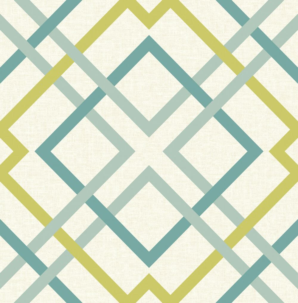A Street Prints Saltire Green Wallpaper - Product code: FD22651