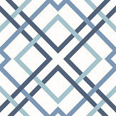 A Street Prints Saltire Dark Blue Wallpaper - Product code: FD25436