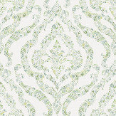 A Street Prints Featherton Green / Blue Wallpaper - Product code: FD25404