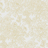 A Street Prints Birds of Paradise Yellow Wallpaper - Product code: FD25413