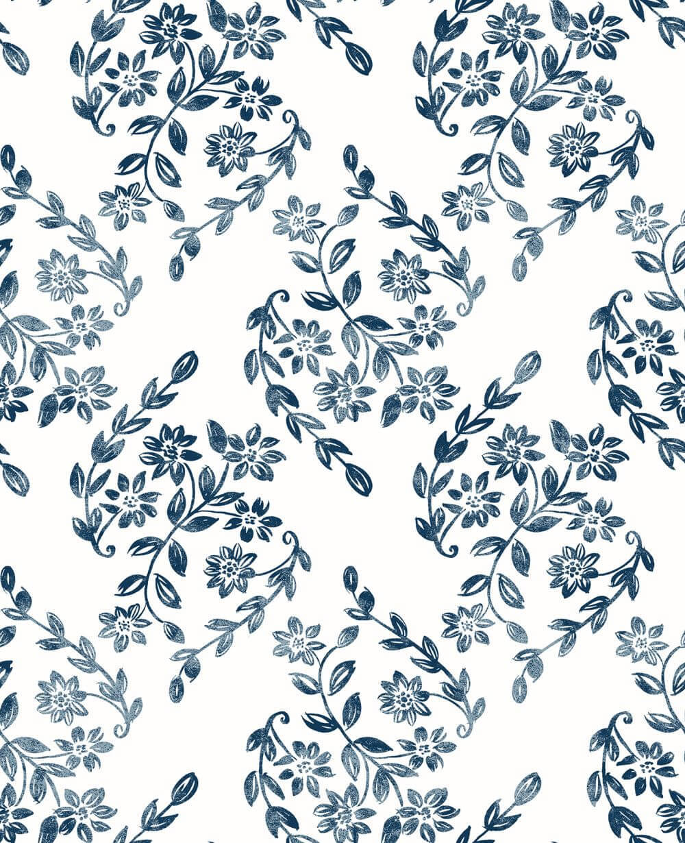 A Street Prints Arabesque Blue Wallpaper - Product code: FD25428