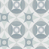 A Street Prints Ellis Blue Wallpaper - Product code: FD25132