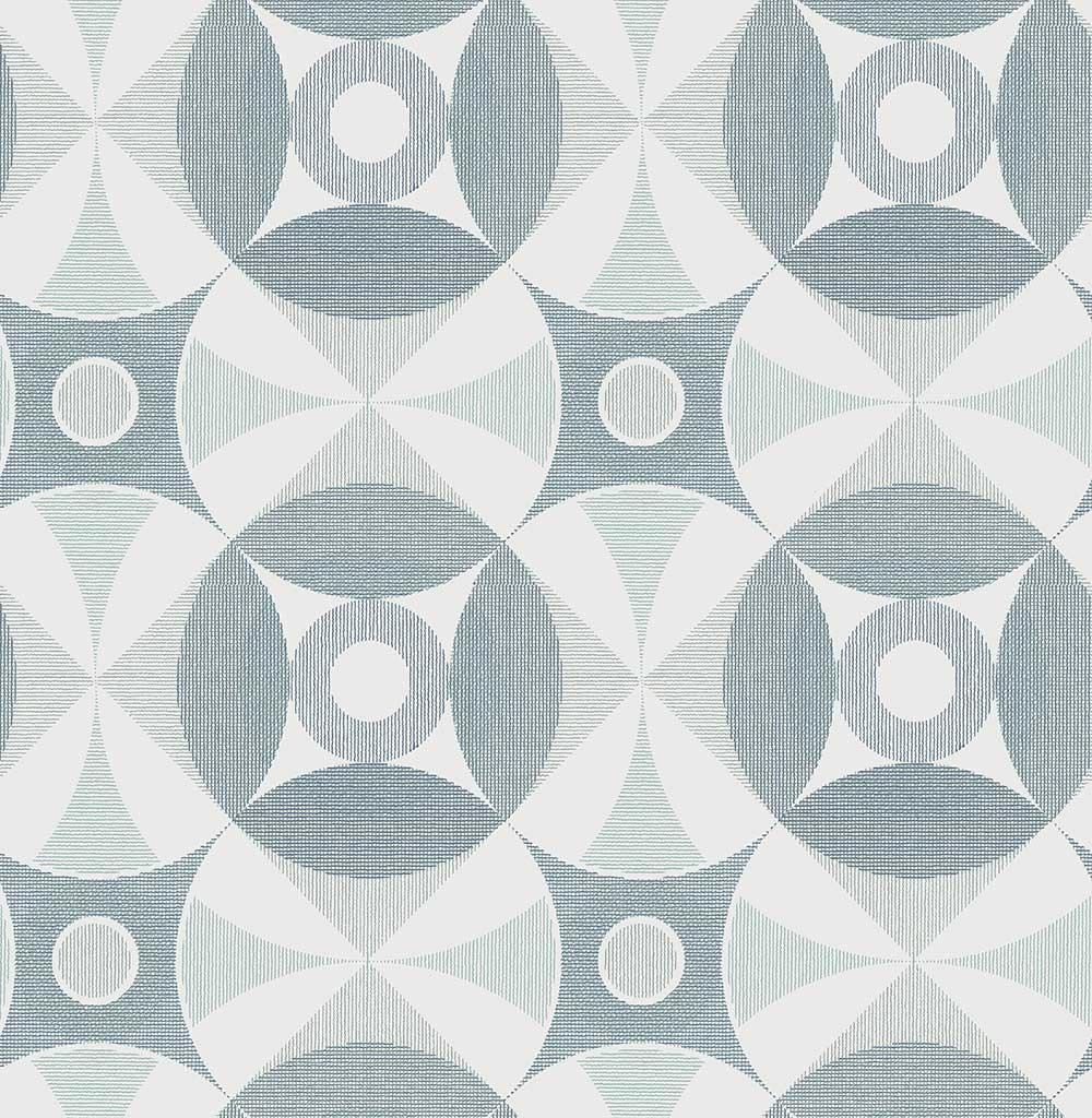 A Street Prints Ellis Blue Wallpaper - Product code: FD25132