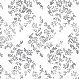 A Street Prints Arabesque Grey Wallpaper - Product code: FD25429
