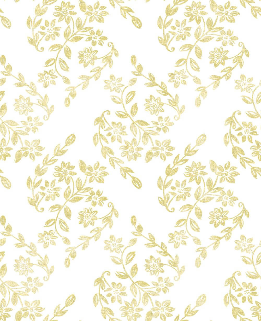A Street Prints Arabesque Yellow Wallpaper - Product code: FD25430