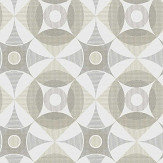 A Street Prints Ellis Grey / Beige Wallpaper - Product code: FD25134
