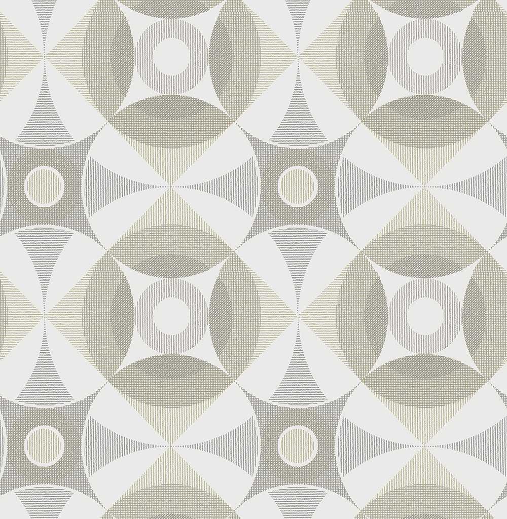 A Street Prints Ellis Grey / Beige Wallpaper - Product code: FD25134
