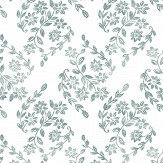 A Street Prints Arabesque Green Wallpaper - Product code: FD25431