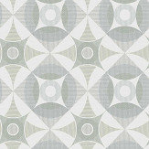 A Street Prints Ellis Green Wallpaper - Product code: FD25135