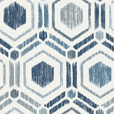 A Street Prints Borneo Blue Wallpaper - Product code: FD25433