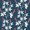 A Street Prints Linnea Blue / Red Wallpaper - Product code: FD25438