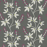 A Street Prints Linnea Grey / Purple Wallpaper - Product code: FD25439