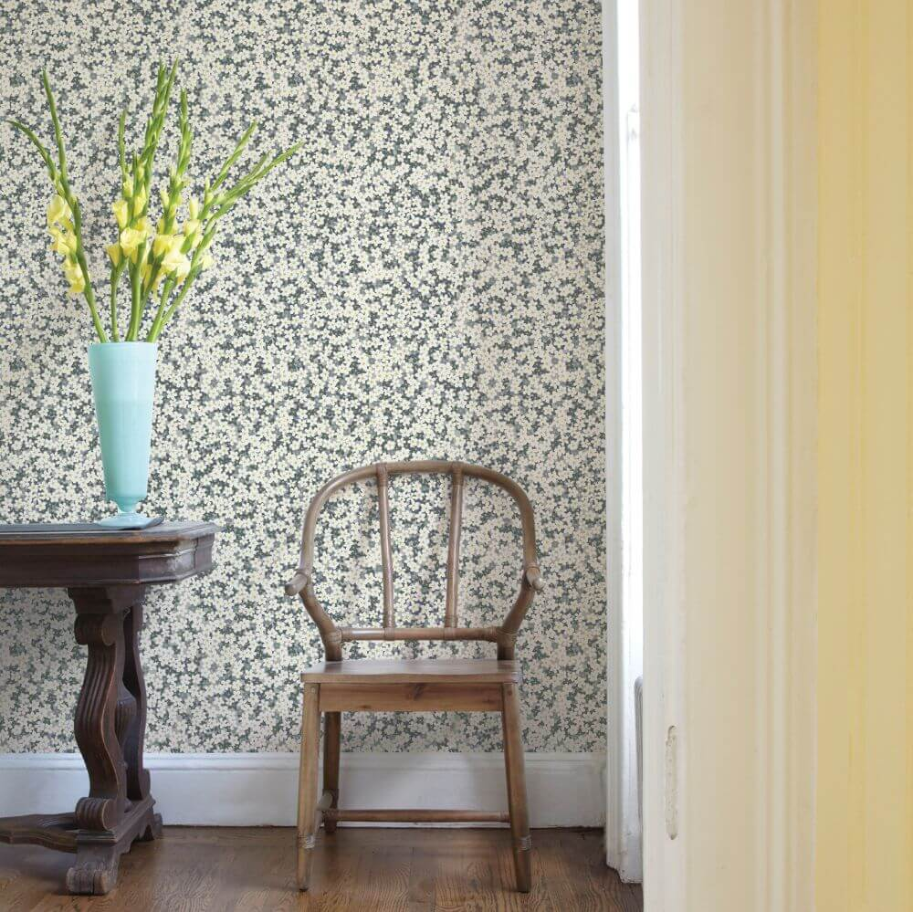 A Street Prints Giverny Grey Wallpaper - Product code: FD25447