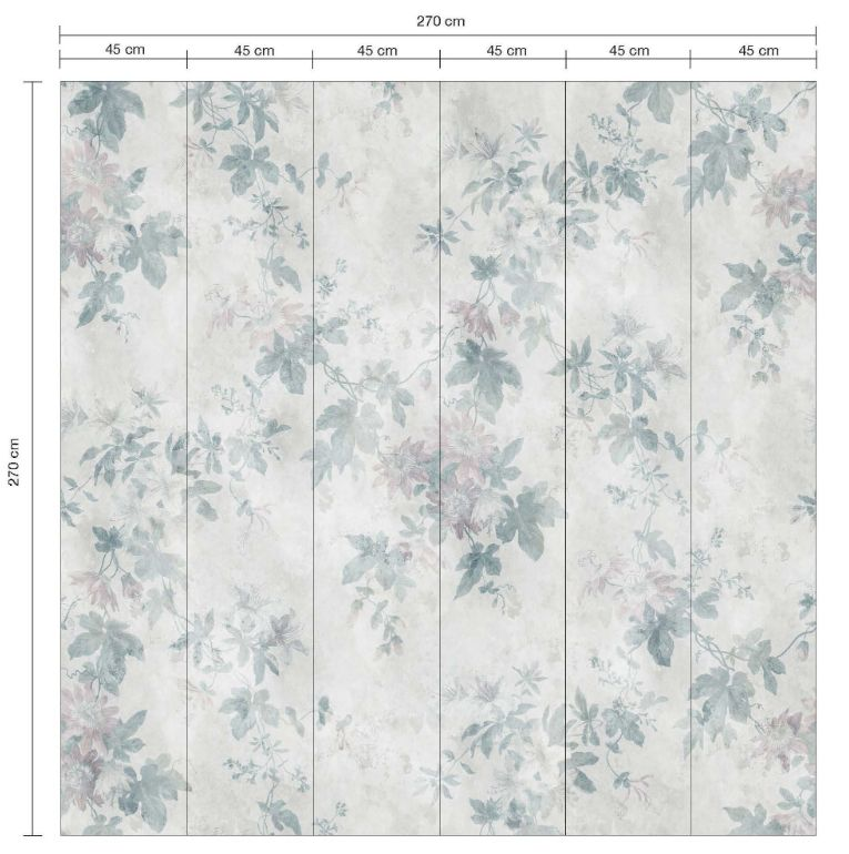 Sandberg Faded Passion Grey Mural - Product code: 623-16