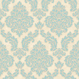 SK Filson Sahara Damask Blue  Wallpaper - Product code: SK10015