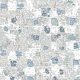A Street Prints Tia Blue Wallpaper - Product code: FD25137