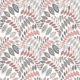 A Street Prints Fiddleheads Pink Wallpaper - Product code: FD25141