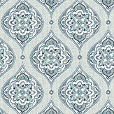 A Street Prints Adele Blue Wallpaper - Product code: FD25146