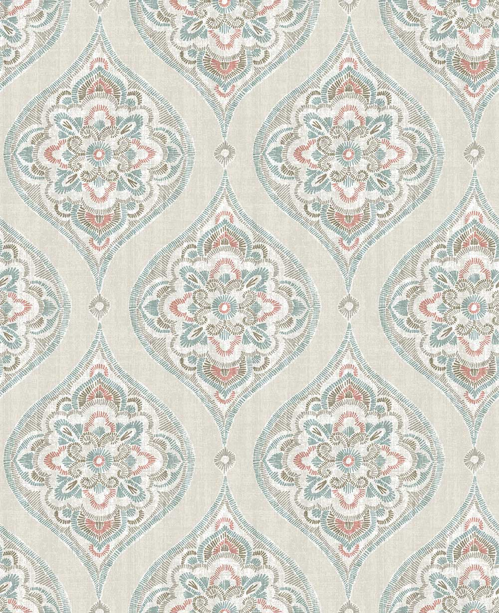 A Street Prints Adele Multi-coloured Wallpaper - Product code: FD25150
