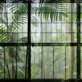 Walls by Patel Rainforest 1 Green Mural - Product code: DD113738