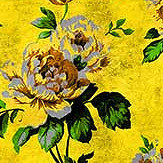 Walls by Patel Wild Roses 5 Yellow Mural - Product code: DD113918