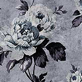 Walls by Patel Wild Roses 6 Grey Mural - Product code: DD113923