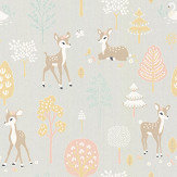 Majvillan Golden Woods Soft Grey Wallpaper - Product code: 125-01