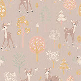 Majvillan Golden Woods Dusty Lilac Wallpaper - Product code: 125-04