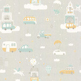 Majvillan Above the Clouds Soft Grey Wallpaper - Product code: 131-01
