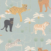 Majvillan Black Panther Twilight Blue Wallpaper - Product code: 134-02