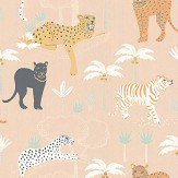 Majvillan Black Panther Creamy Orange Wallpaper - Product code: 134-03