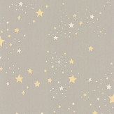 Majvillan Twinkle Mud Grey Wallpaper - Product code: 135-01