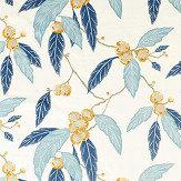 Harlequin Coppice Saffron/ Cobalt Fabric - Product code: 120821