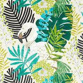 Harlequin Solana Ebony /Zest/ Marine Fabric - Product code: 120824