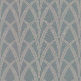 The Chateau by Angel Strawbridge Broadway Azure  Fabric - Product code: BRO/AZU/13700FA