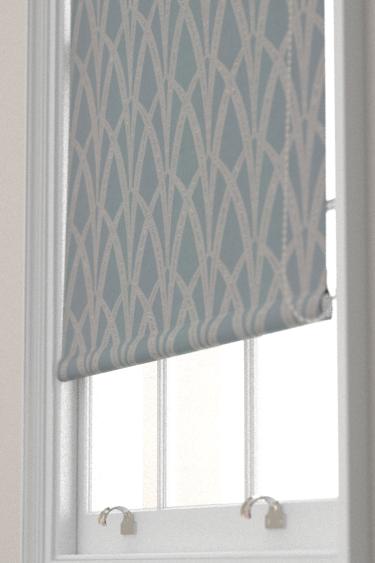 The Chateau by Angel Strawbridge Broadway Azure  Blind - Product code: BRO/AZU/13700FA