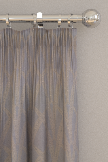 The Chateau by Angel Strawbridge Broadway Silver Curtains - Product code: BRO/SIL/13700FA