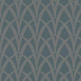 The Chateau by Angel Strawbridge Broadway Teal Fabric - Product code: BRO/TEA/13700FA