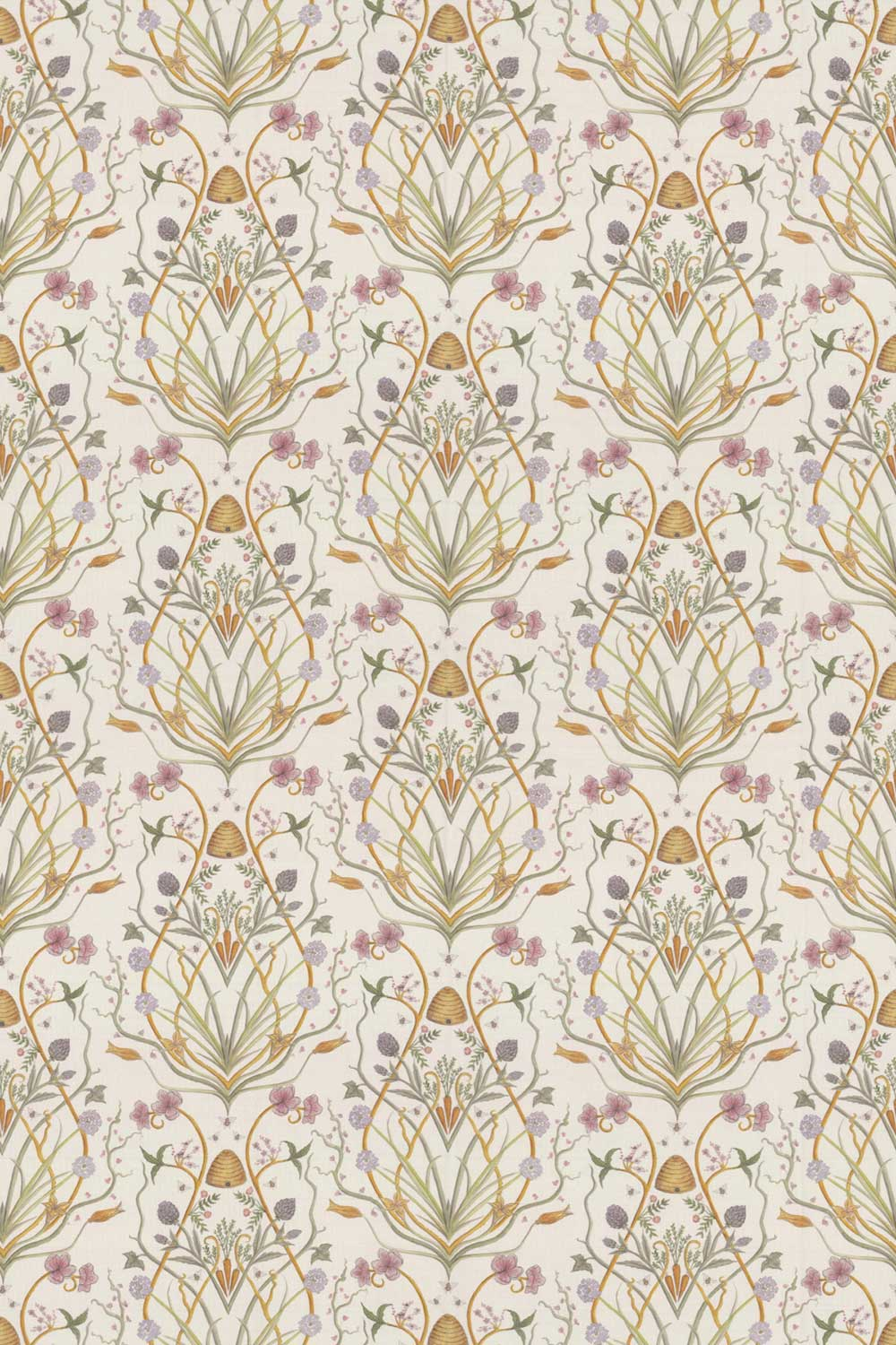 Potagerie Fabric - Cream - by The Chateau by Angel Strawbridge