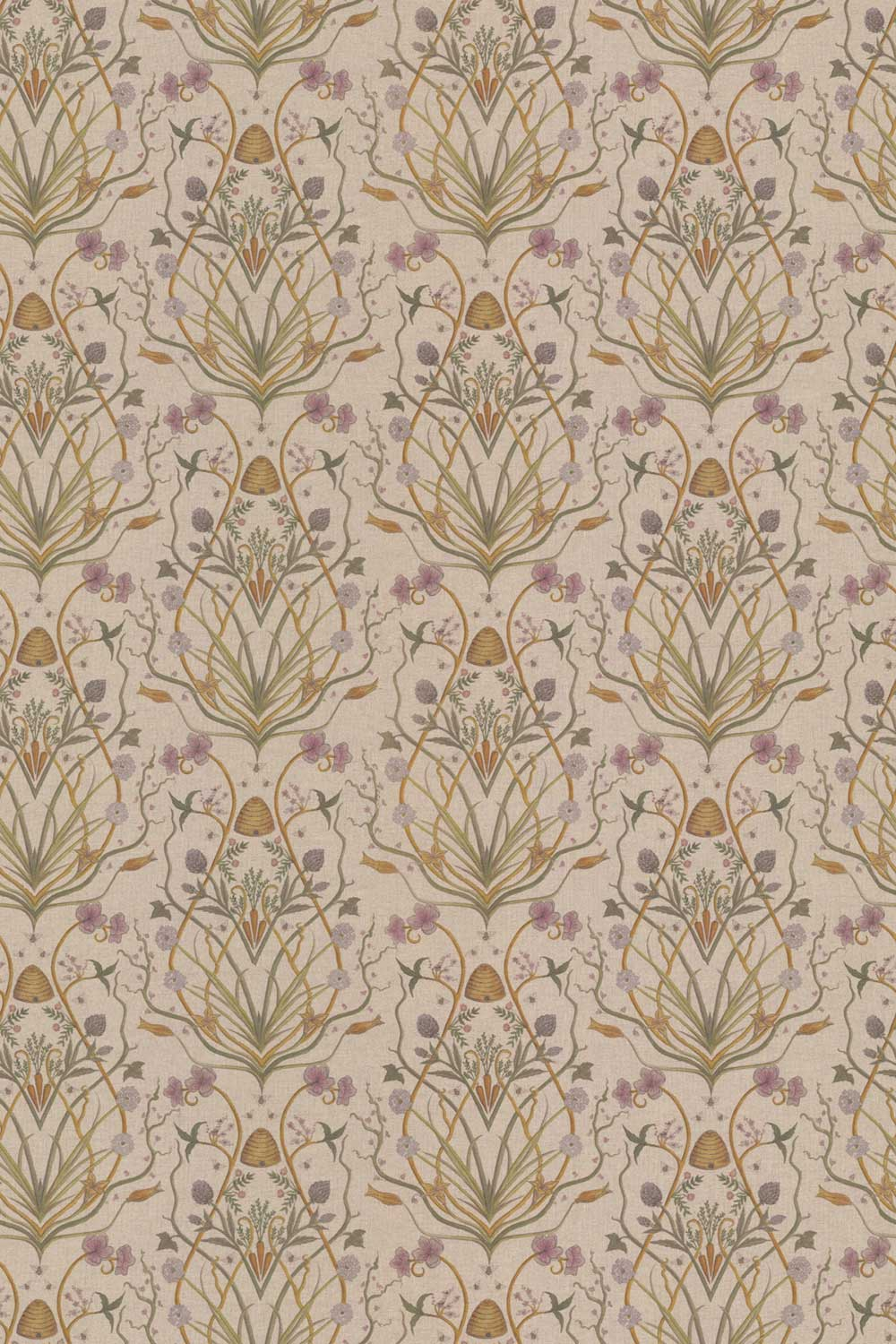 Potagerie Fabric - Linen - by The Chateau by Angel Strawbridge
