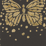 Christian Lacroix Les Messagers Black and Gold Wallpaper - Product code: PCL7026/01