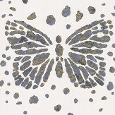 Christian Lacroix Les Messagers White/ Grey/ Gold Wallpaper - Product code: PCL7026/02