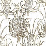 Christian Lacroix Les Centaurees White/ Gold Wallpaper - Product code: PCL7027/01