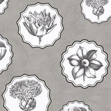 Christian Lacroix Herbariae Grey Wallpaper - Product code: PCL7028/02