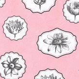 Christian Lacroix Herbariae Pink Wallpaper - Product code: PCL7028/03