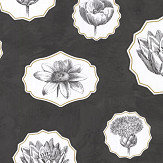 Christian Lacroix Herbariae Black Wallpaper - Product code: PCL7028/04