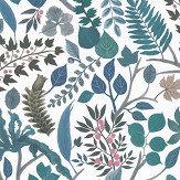 Christian Lacroix Cueillette Blue/ White Wallpaper - Product code: PCL7024/03