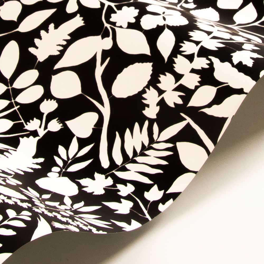 L'eden Soft Wallpaper - Black/ Gold - by Christian Lacroix
