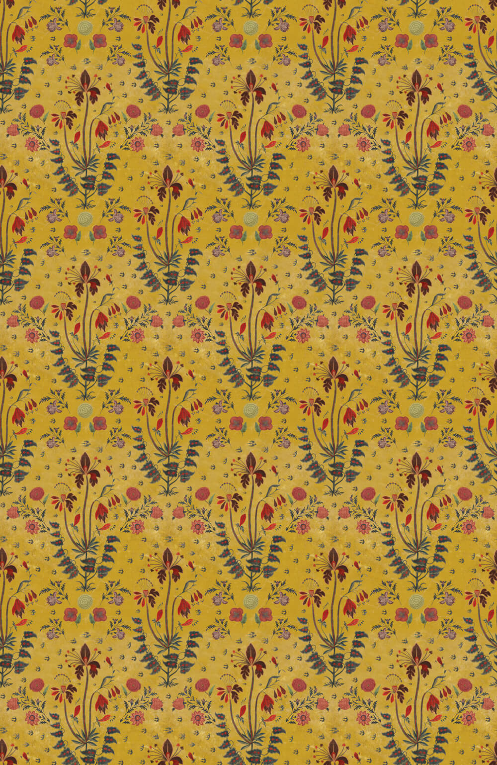 Mind the Gap Gypsy Ochre Fabric - Product code: FB00002